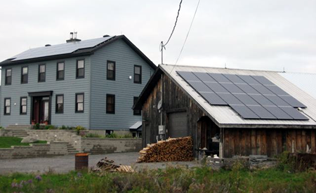Ottawa Solar Power|Portfolio|Almonte Off-grid Farm Barn